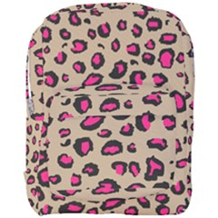 Pink Leopard 2 Full Print Backpack by TRENDYcouture