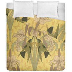 Art Nouveau Duvet Cover Double Side (california King Size) by 8fugoso