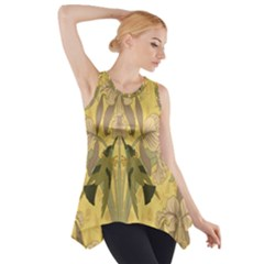 Art Nouveau Side Drop Tank Tunic by 8fugoso