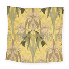 Art Nouveau Square Tapestry (large) by 8fugoso