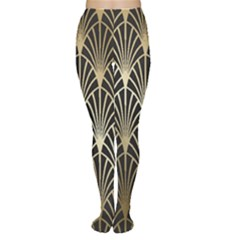 Art Deco Women s Tights by 8fugoso