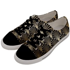 Art Deco Men s Low Top Canvas Sneakers by 8fugoso
