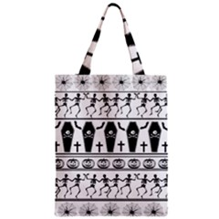 Halloween Pattern Zipper Classic Tote Bag by ValentinaDesign