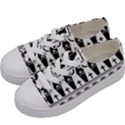 Halloween pattern Kids  Low Top Canvas Sneakers View2