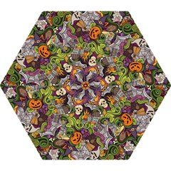 Halloween Pattern Mini Folding Umbrellas by ValentinaDesign