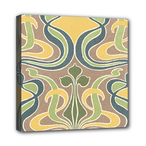 Art Nouveau Mini Canvas 8  X 8  by 8fugoso