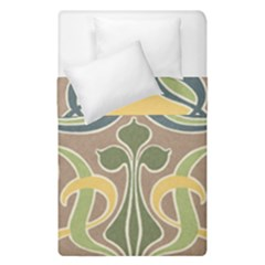 Art Nouveau Duvet Cover Double Side (single Size) by 8fugoso