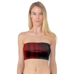 Black Red Door Bandeau Top by Mariart
