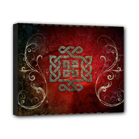 The Celtic Knot With Floral Elements Canvas 10  X 8  by FantasyWorld7