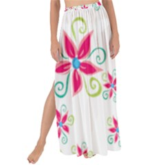 Flower Beauty Sexy Rainbow Sunflower Pink Green Blue Maxi Chiffon Tie Up Sarong