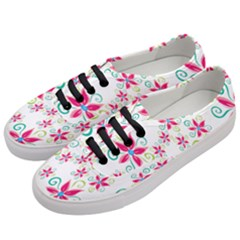 Flower Beauty Sexy Rainbow Sunflower Pink Green Blue Women s Classic Low Top Sneakers by Mariart