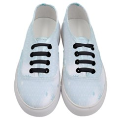 Flower Blue Polka Plaid Sexy Star Love Heart Women s Classic Low Top Sneakers