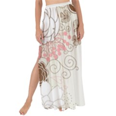 Flower Floral Rose Sunflower Star Sexy Pink Maxi Chiffon Tie Up Sarong