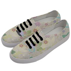 Flower Rainbow Star Floral Sexy Purple Green Yellow White Rose Men s Classic Low Top Sneakers by Mariart