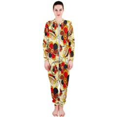 Flower Seed Rainbow Rose Onepiece Jumpsuit (ladies)  by Mariart