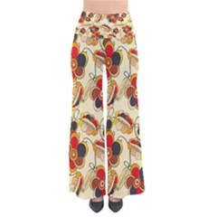 Flower Seed Rainbow Rose Pants by Mariart