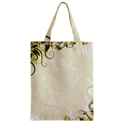 Flower Star Floral Green Camuflage Leaf Frame Zipper Classic Tote Bag by Mariart