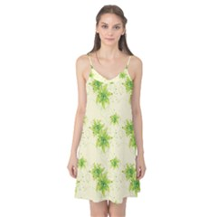 Leaf Green Star Beauty Camis Nightgown