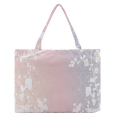Love Heart Flower Purple Sexy Rose Zipper Medium Tote Bag by Mariart