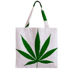 Marijuana Weed Drugs Neon Cannabis Green Leaf Sign Grocery Tote Bag by Mariart