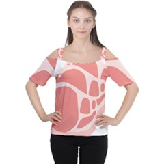 Meat Cutout Shoulder Tee