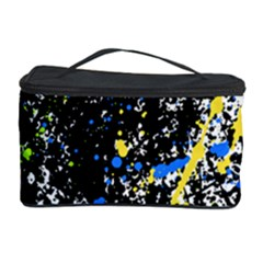 Spot Paint Pink Black Green Yellow Blue Sexy Cosmetic Storage Case by Mariart