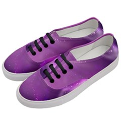 Space Star Planet Galaxy Purple Women s Classic Low Top Sneakers by Mariart