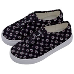 Sunflower Star Floral Purple Pink Kids  Classic Low Top Sneakers by Mariart