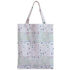 Spot Polka Dots Blue Pink Sexy Zipper Classic Tote Bag by Mariart