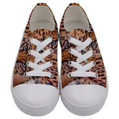 Tiger Beetle Lion Tiger Animals Leopard Kids  Low Top Canvas Sneakers