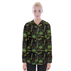 Pattern Halloween Witch Got Candy? Icreate Womens Long Sleeve Shirt by iCreate