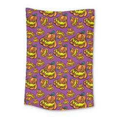 1pattern Halloween Colorfuljack Icreate Small Tapestry by iCreate