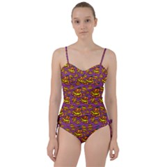 1pattern Halloween Colorfuljack Icreate Sweetheart Tankini Set by iCreate