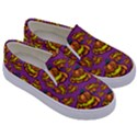 Halloween Colorful Jackolanterns  Kids  Canvas Slip Ons View3
