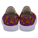 Halloween Colorful Jackolanterns  Kids  Canvas Slip Ons View4