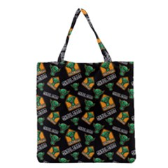 Halloween Ghoul Zone Icreate Grocery Tote Bag by iCreate
