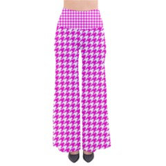 Friendly Houndstooth Pattern,pink Pants