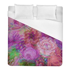 Acid Vintage Duvet Cover (full/ Double Size) by QueenOfEngland
