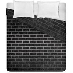 Brick1 Black Marble & Gray Metal 1 Duvet Cover Double Side (california King Size) by trendistuff