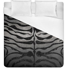 Skin2 Black Marble & Gray Metal 1 (r) Duvet Cover (king Size) by trendistuff