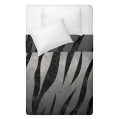 Skin3 Black Marble & Gray Metal 1 (r) Duvet Cover Double Side (single Size) by trendistuff