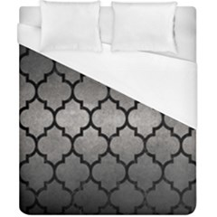 Tile1 Black Marble & Gray Metal 1 (r) Duvet Cover (california King Size) by trendistuff