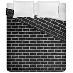 Brick1 Black Marble & Gray Metal 2 Duvet Cover Double Side (california King Size) by trendistuff