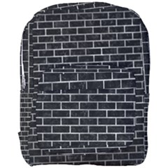 Brick1 Black Marble & Gray Metal 2 Full Print Backpack by trendistuff
