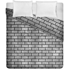 Brick1 Black Marble & Gray Metal 2 (r) Duvet Cover Double Side (california King Size) by trendistuff