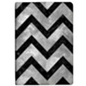 CHEVRON9 BLACK MARBLE & GRAY METAL 2 (R) Apple iPad Pro 10.5   Flip Case View1