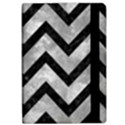 CHEVRON9 BLACK MARBLE & GRAY METAL 2 (R) Apple iPad Pro 10.5   Flip Case View2