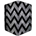 CHEVRON9 BLACK MARBLE & GRAY METAL 2 (R) Apple iPad Pro 10.5   Flip Case View3