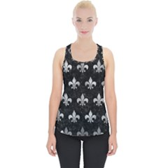Royal1 Black Marble & Gray Metal 2 (r) Piece Up Tank Top