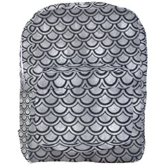Scales2 Black Marble & Gray Metal 2 (r) Full Print Backpack by trendistuff
